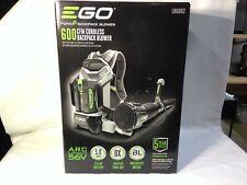 New EGO 145 MPH 600 CFM 56V Lithium LB6002 Cordless Backpack Blower BARE Tool