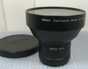 Nikon WC-E80 0.8X Wide Angle Auxiliary Lens with UR-E8 5700 Adapter