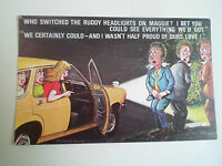 BAMFORTH Vintage Postcard Comic Series No 938 Stopping For a Wee Humour