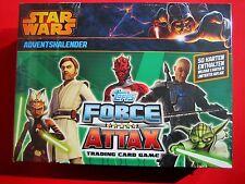 Topps Star Wars - Force Attax Serie 5 Clone Wars Trading Card Adventskalender