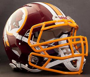 ***CUSTOM*** WASHINGTON REDSKINS NFL Riddell Speed AUTHENTIC Football Helmet