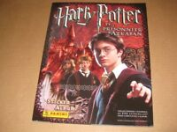 Harry Potter Prisoner of Azkaban Panini Stickers Album