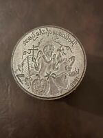 Mardi Gras Doubloon Die. Bal Masque Krewe 1969! Original And Heavy