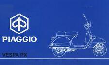 Manuali & Guide VESPA PIAGGIO PX - Manuale Officina, Uso Manutenzione, Consigli