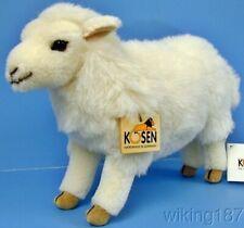 KOSEN Of Germany #5720 NEW Made of Alpaca Standing White Sheep Plush Toy