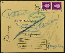 Netherlands 1948 Return To Sender Cover #C54074