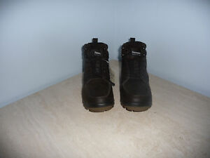 DEER STAGS FULL GRAIN LEATHER STOWE BOOTS -  11M