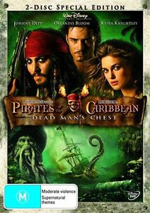 Pirates Of The Caribbean Dead Man's Chest DVD 2006 2-Disc Set Brand New Sealed