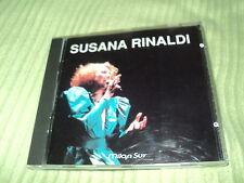 "RARE! CD ""SUSANA RINALDI - SOY UN CIRCO / Milan Sur"" 10 morceaux"