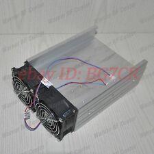 Aluminum Heat Sink Radiator for 150W/350W FM Transmitter Amplifier Pallet 2 fans