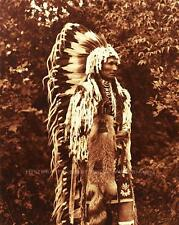 CAYUSE INDIAN CHIEF UMAPINE VINTAGE PHOTO NATIVE AMERICAN OLD WEST  #21089