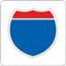 Provocraft Cuttlebug Die- Interstate Sign 37-1527
