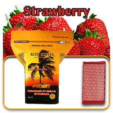 Home Office Auto Scent Air Freshner STRAWBERRY 60QTY