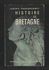 █ Jospeh Chardronnet HISTOIRE DE LA BRETAGNE 1965 █