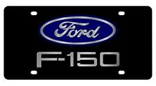 New Ford F-150 Blue Logo Acrylic License Plate