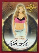 2013 Benchwarmer Thanksgiving 11-28-13 Katie Lohmann Autograph Card # 47