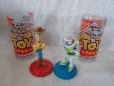 1995 Minute Maid Toy Story Woody & Buzz Lightyear  Figures