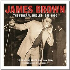 James Brown The Federal Singles 1958-1960 2-CD NEW SEALED Please Please Please+