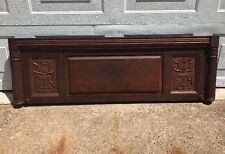 """Huge 58"""" Mahogany Upright Piano Door Great Architectural Salvage Piece!"""