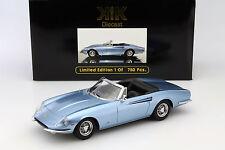 Ferrari 365 California spyder année 1966 bleu clair métallique 1:18 KK-scale