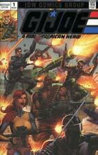 G.I. Joe: A Real American Hero - Anniversary Edition SILVER EMBOSSED COVER