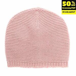 PILI CARRERA Beanie Cap Size 6-12M Garter Knit