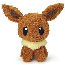 Sekiguchi Pokemon Pocket Moko Moko Collection Fluffy Eevee Plush Pokemon Go Doll