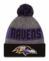 Baltimore Ravens 2016-17 Players Sideline Sports Knit Beanie Cap Hat NFL New Era