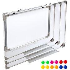 Tableau blanc magnétique mémo ardoise mural + 12 Magnets