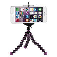 Yemota Pro Stativ iPhone 5 5S 6 Ständer Halterung Tripod Kamera Foto Handy Lila