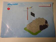 PLAYMOBIL – Notice 4133 légèrement usée