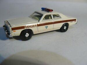 Bureau of Land Management Ranger Patrol Car   Old School Custom  1:64