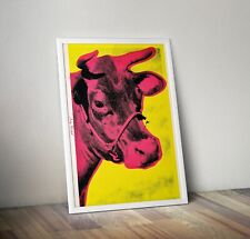 More details for andy warhol print, cow art print, andy warhol print, poster