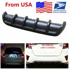 "25""x5"" Car SUV Universal Shark Fin Style Add on Rear Bumper Lip Diffuser Kit USA"