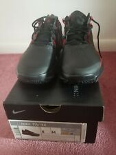 Collectable new nike tiger woods tw 14 golf shoes black and red