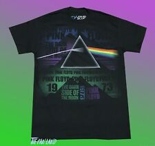 New Pink Floyd The Dark Side of the Moon Black Vintage Men's T-Shirt