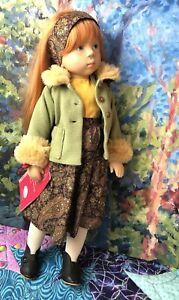 "Rare vintage 19.5"" Sweet Amanda #48 Fanouche Sylvia Natterer Doll Gotz"