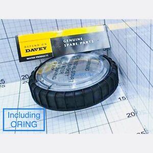 Davey Silensor Pump LID, LOCKING NUT & ORING-  (Genuine parts) - FOR: SLS MODEL