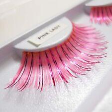 Fabuloso falso imitación Foil Pestañas Postizas Partido Pestañas-Pink Lady