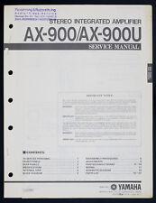 YAMAHA AX-900 AX-900U Original Stereo Amplifier/Verstärker Service-Manual o142