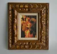 "Vintage Ornate Wood Frame Hand Carved Pieces by Revel Frames Inc. NYC, 14"" x 12"""