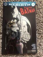 ALL STAR BATMAN 1 Rare COMIC CON FOIL VARIANT DC 1001-1005 1st App Arkham Knight