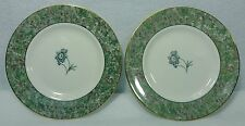 """WEDGWOOD china HUMMING BIRDS pattern Bread Plate - Set of Two (2) - 6"""""""