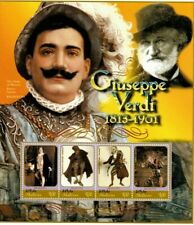 MODERN GEMS - Maldives - Giuseppe Verdi - Sheet Of 4 - MNH