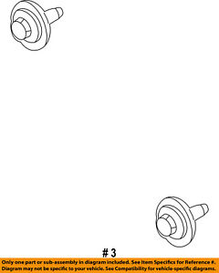 FORD OEM Belts Pulleys-Idler Pulley Bolt N808102S437