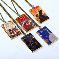 Alice Harry Potter Film Pendant Present  Book Necklace Party  Accessories