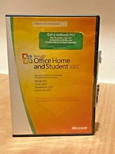 Microsoft Office Home and Student 2007 Genuine with Product Key Word Excel Power