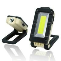 Rechargeable Magnetic LED Work Light Lamp Folding Inspection Torch Access H9X8