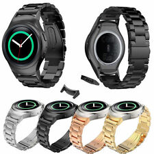 Stainless Steel Band w/Adapter For Samsung Galaxy Gear S2 BSM-R720 Smart Watch