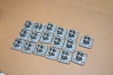 1.25 X 1.25 Pneumatic Air Cylinder Rod Pivot Clevis Mounting Bracket Lot of 2